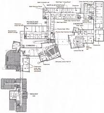 ground floor plan of science center