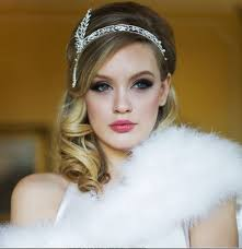 great gatsby hair accessories the great gatsby headband flapper headband roaring 20 s wedding