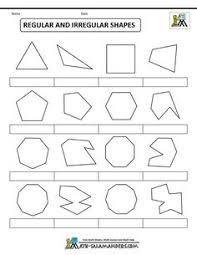 polygon shapes regular and irregular shapes col math busters