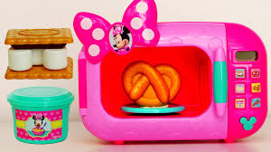 Kitchens For Kids by Microwave Kitchen Appliance Minnie Mouse Toy Playset For Kids And