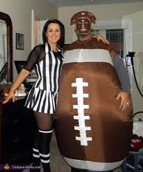 referee costume football and referee couples costume