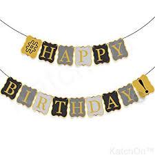 Vintage Birthday Decorations Amazon Com Vintage Happy Birthday Banner Decorations Classy