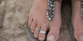 male toe rings images An open letter to anyone wearing foot jewelry huffpost jpg