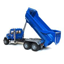 dump truck 16th bruder mack granite halfpipe dump truck
