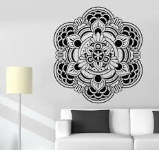 Lotus Flower Wall Decal Om by Wall Stickers Buddha Mandala Om Mantra Zen Lotus Meditation Vinyl