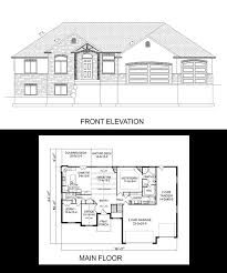 Four Car Garage House Plans 16 Best One Story House Plans Images On Pinterest Story House