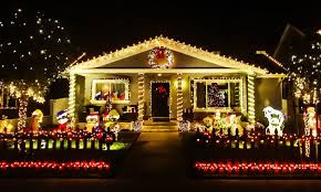 Christmas Decorated Houses Most Christmas Decorated Houses In America House And Home Design