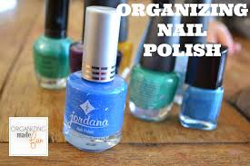 easy inexpensive nail polish organization organizing made fun