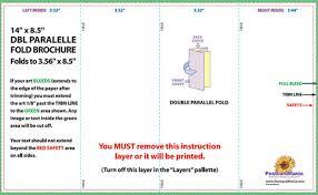 4 panel brochure template 2 panel brochure template publisher templates resume exles
