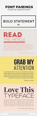 resume modern fonts for logos catchy free font pairings for headings and paragraphs typography