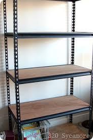 Industrial Metal Bookshelf Industrial Shelf For Boys U0027 Room 320 Sycamore
