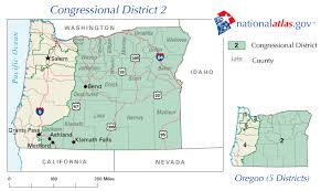 map of oregon 2 oregon district 2 representative in congress 112th us house map