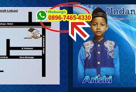 template undangan khitanan cdr download template undangan khitanan ms word 0896 7465 4330 wa