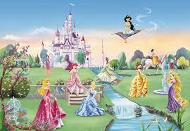 Wallpaper For Children Princess Castle Wall Mural Wallpaper Mural Ideas 13168 Clip