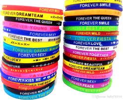 design silicone bracelet images Bulk new design mixed silicone bracelets wristbands wholesale jpg