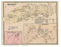 Suffolk County Massachusetts Maps And Essex County Ma Single Map Reprints