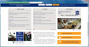 alumni network software jhu alumni office 365 email account information johns alumni