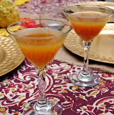 pumpkin martini recipe thanksgiving cider vodka cocktail recipe