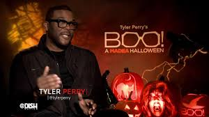 dishing with tyler perry about u0027boo a madea halloween u0027 dish