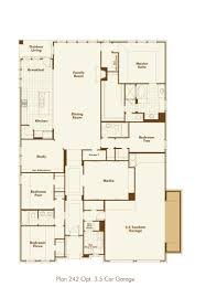 new home plan 242 in roanoke tx 76262 downstairs 1story