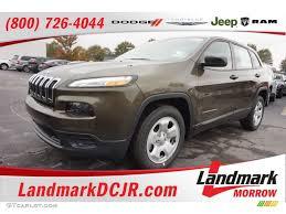 jeep cherokee green 2017 2016 eco green pearl jeep cherokee sport 108315793 gtcarlot com