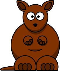 clipartist net clip art toy cartoon kangaroo coloring book