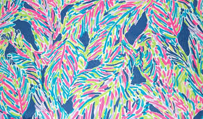 Lilly Pulitzer by Lilly Pulitzer Indigo Palm Reader Cotton Dobby Fabric