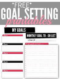 how to set your financial goals plus free goal setting printables