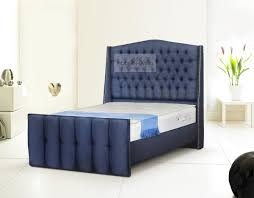 Chesterfield Sleigh Bed Made To Order Fabric Richmond Chesterfield Sleigh Bed Headboard