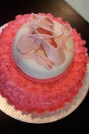 ballerina baby shower cake ballerina baby shower lots of diy goodies hautepnk