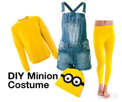 diy minion halloween costume