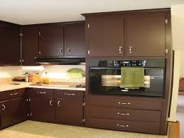 Top Kitchen Cabinet Decorating Ideas Brilliant Brown Painted Kitchen Cabinets Top In Design