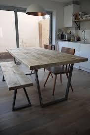 Diy Wood Plank Table Top by John Lewis Calia Style Vintage Industrial Reclaimed Plank Top