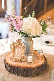 table centerpiece ideas shabby chic vintage wedding decor ideas vintage weddings
