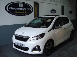 used peugeot 108 convertible 1 2 puretech allure top 5dr in
