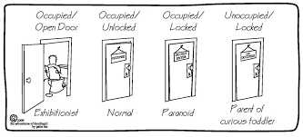 Bathroom Occupied Signs Bathroom Personality Assessment Part 3 Better Than A Two U2026 Flickr