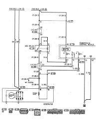 charging alternator wiring diagram alternator cable diagram