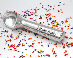 personalized scoop scooper etsy