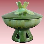 vintage drip glaze l wedgwood jasperware trinket bean box with lid vintage by m r