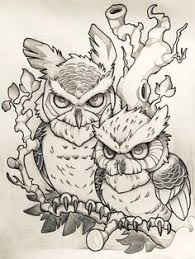 fantastic brown new flying owl tattoo design tattoos i