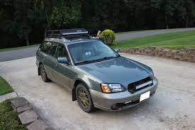 wrecked subaru outback i got my top and front led bars installed on my outback battlewagon