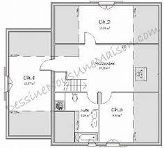 plan etage 4 chambres plan maison 4 chambres etage plan maison tage avec 4 chambres