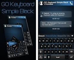 go keyboard apk go keyboard simple black theme apk version 4 16