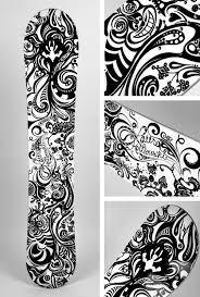snowboard design white rabbit custom snowboard design illustration on behance