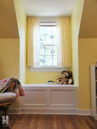 bay window seat design samples to help you make your room look mesmerizing white bay window seat storage design ideas and lovely soft yellow walls and curtains