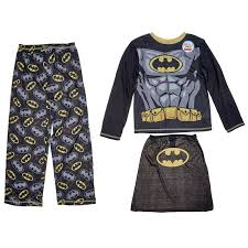 boys batman pajamas with cape 4 12 711693286