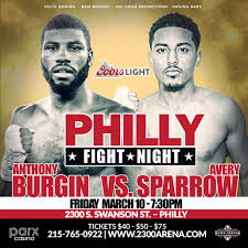 two philly boxing events this weekend friday u0026 saturday