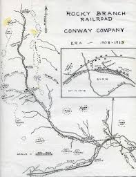 Libby Montana Map by Branch Railroad