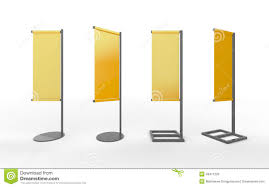 Flag Displays Set Of Yellow Blank Banner Japanese Flag Display With Aluminum