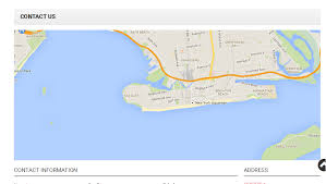 magento how to remove map from contacts page template